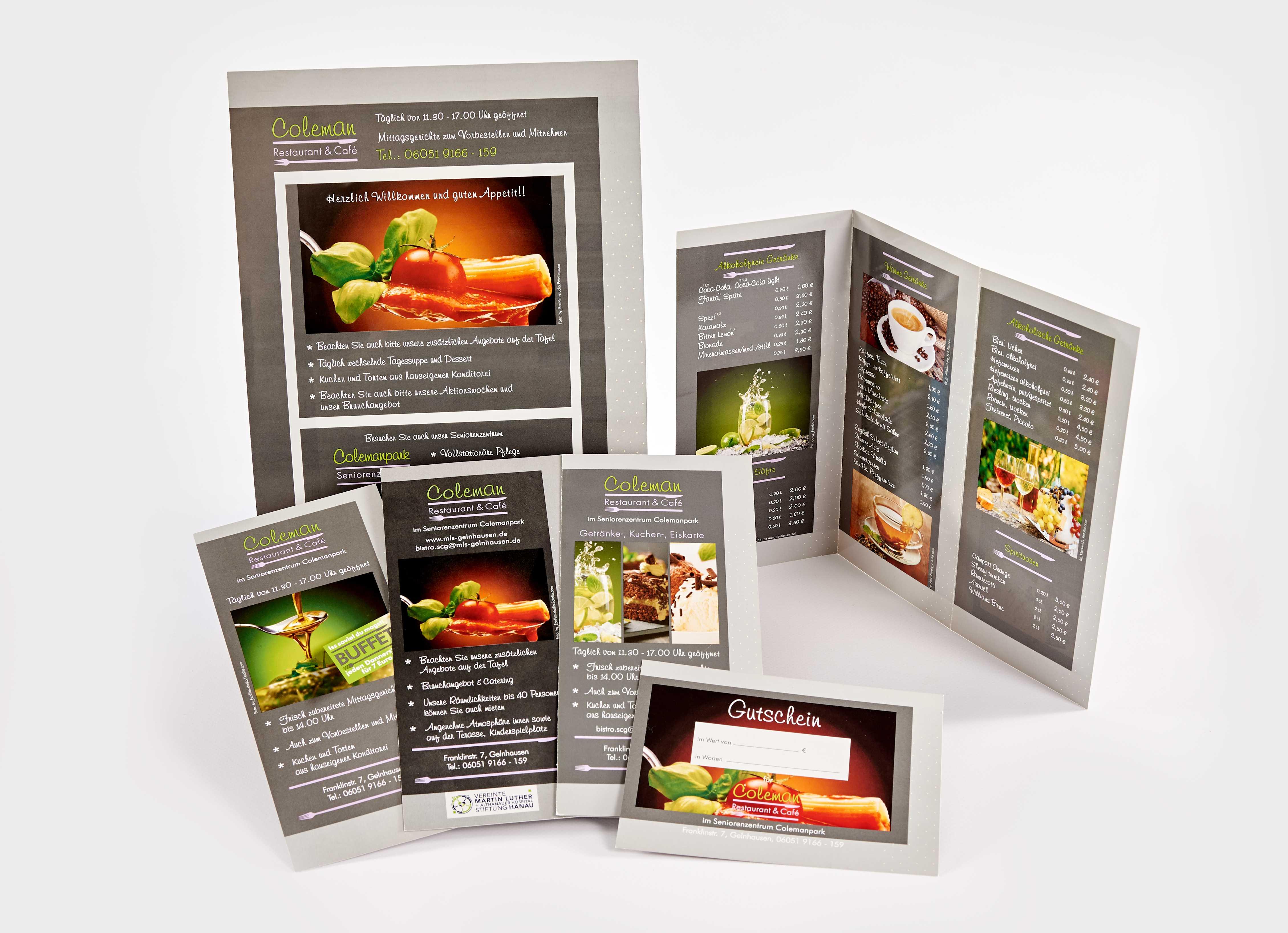 ellen-design - Grafikdesign: Corporate Design - Flyer & Speisekarte ...
